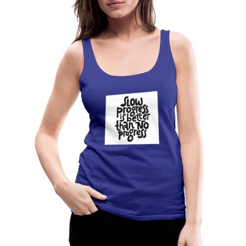 Motivational Fitness Shirt - Frauen Premium Tank Top