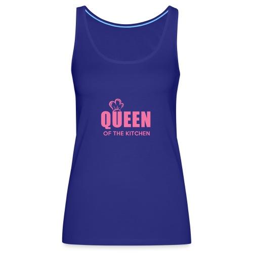 KITCHEN QUEEN - Women's Premium Tank Top