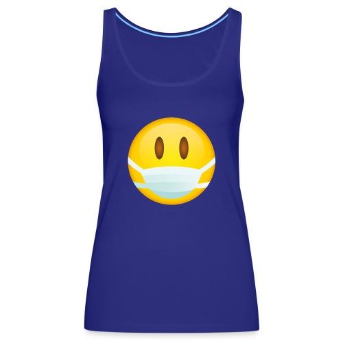 Smile mascarilla - Camiseta de tirantes premium mujer