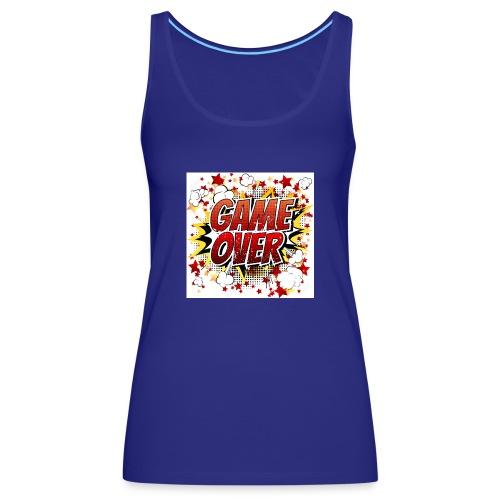 42029218 game over co mic la expresio n de dibujos - Camiseta de tirantes premium mujer