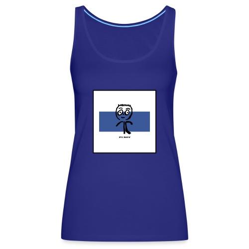 Pi Boy Blue Azul - Camiseta de tirantes premium mujer