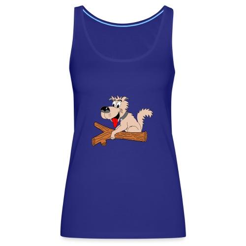 t shirt amusant chien drole humour - Débardeur Premium Femme
