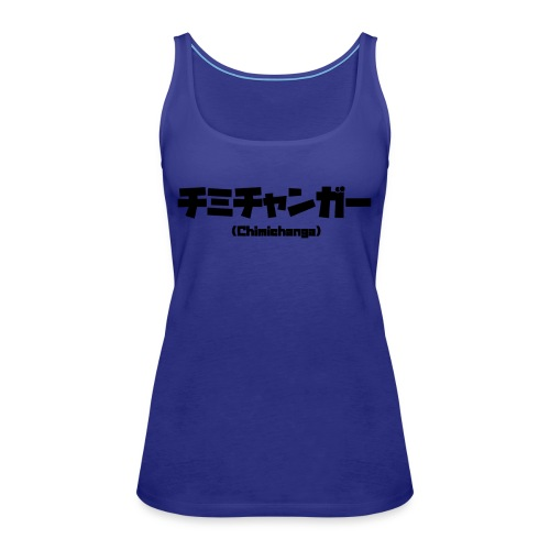 Chimichanga - Camiseta de tirantes premium mujer