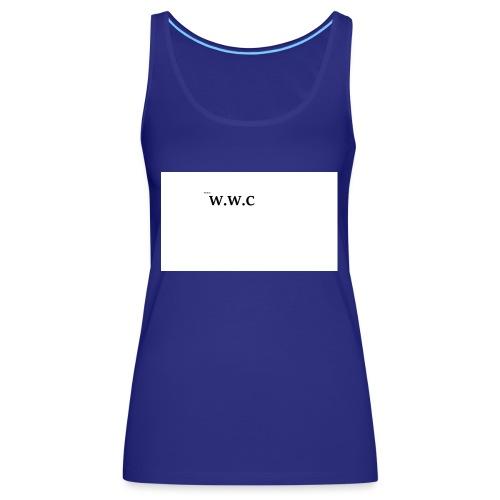 White Wolf Clothing - Dame Premium tanktop