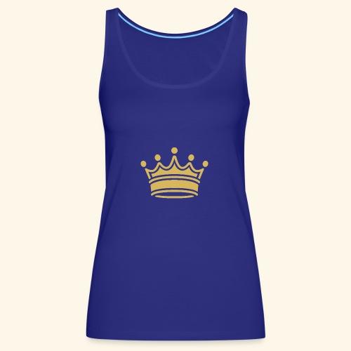 crown - Women's Premium Tank Top