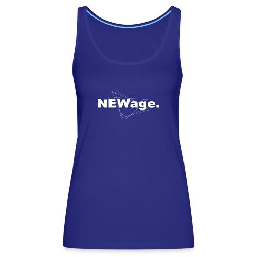 NEWage. - Camiseta de tirantes premium mujer