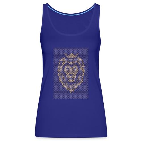 Lion Crown - Women's Premium Tank Top