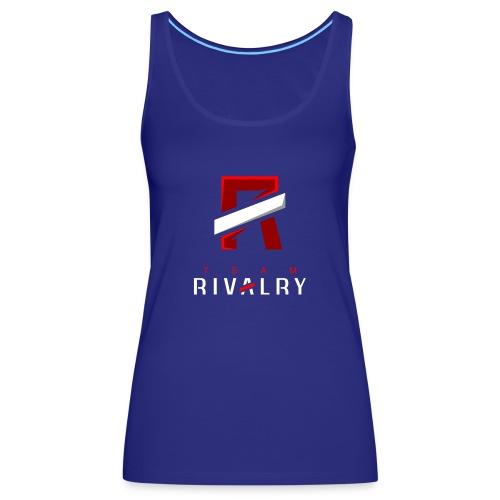 Team Rivalry White bar Design - Frauen Premium Tank Top