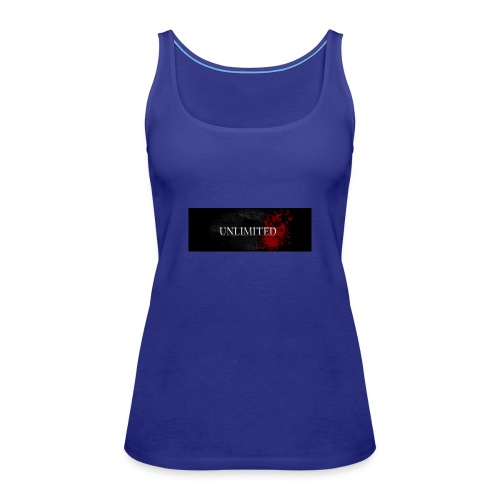 unlimited copy - Women's Premium Tank Top