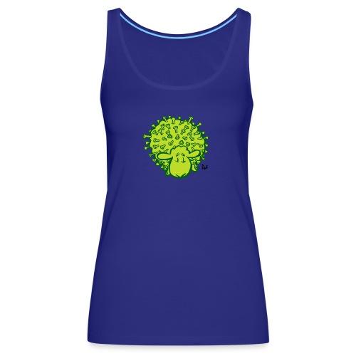 Virus oveja - Camiseta de tirantes premium mujer