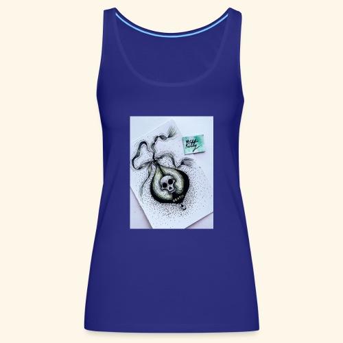 Poison design dark - Camiseta de tirantes premium mujer