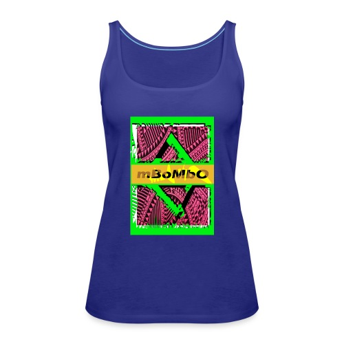 mbombo - Camiseta de tirantes premium mujer