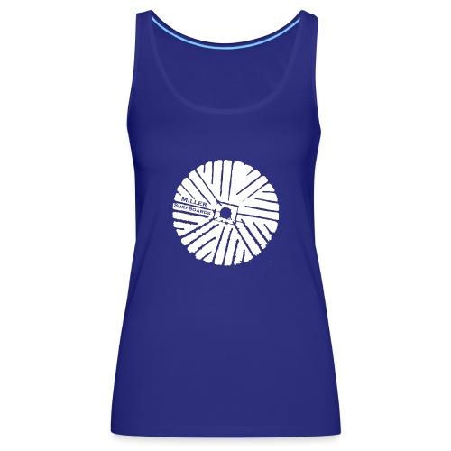 White chest logo sweat - Women's Premium Tank Top