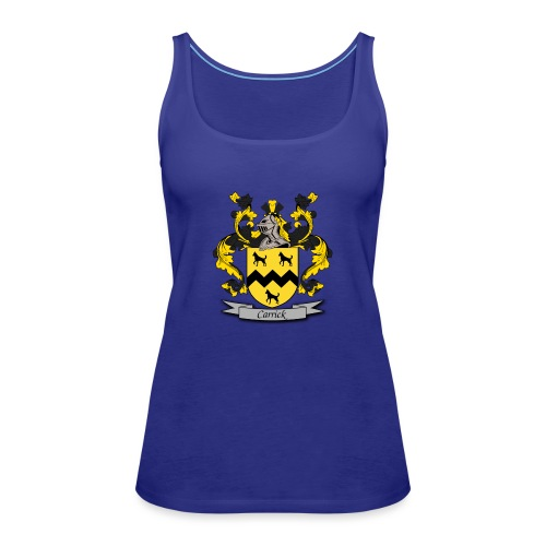 Carrick Family Crest - Women's Premium Tank Top