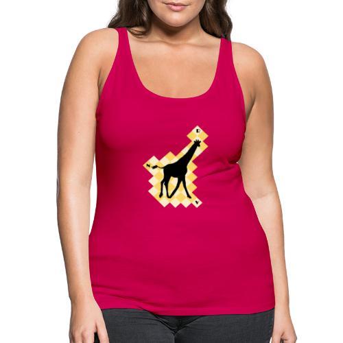 GiraffeSquare - Naisten premium hihaton toppi