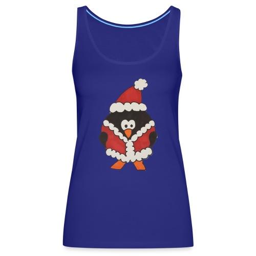 Christmas penguin t-shirt - Women's Premium Tank Top