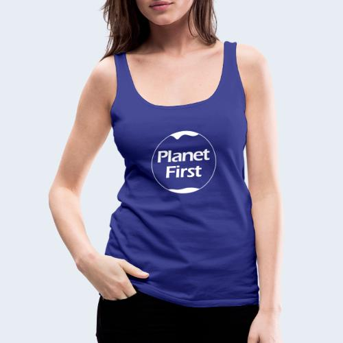 Planet First - Vrouwen Premium tank top