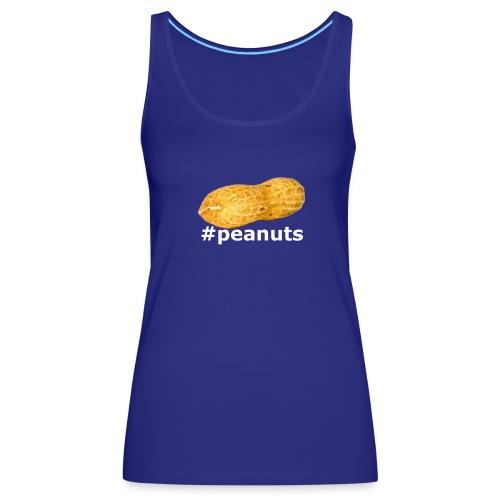 hashtag peanuts shirt - Frauen Premium Tank Top