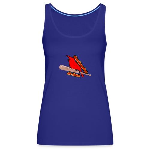 Cardenales en Lara - Camiseta de tirantes premium mujer