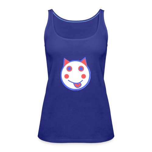 Red White And Blue - Alf Da Cat - Women's Premium Tank Top