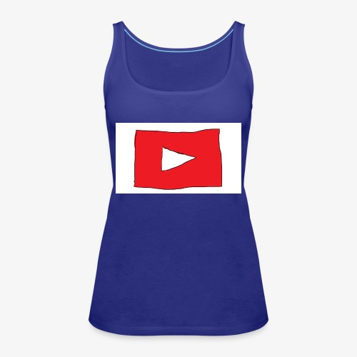 youtube Man - Premiumtanktopp dam