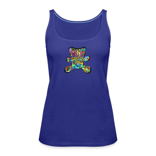 Have a colorful hug - Women's Premium Tank Top