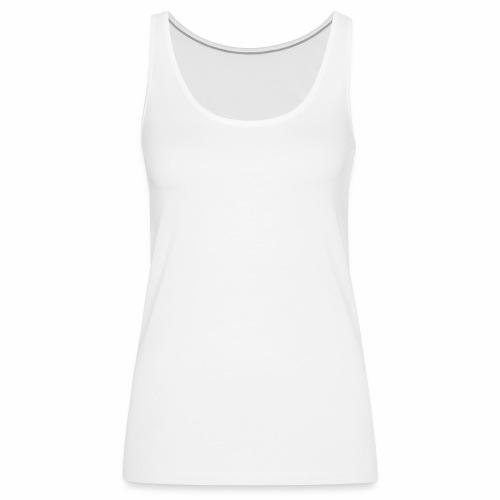 Brand RLL White - Canotta premium da donna