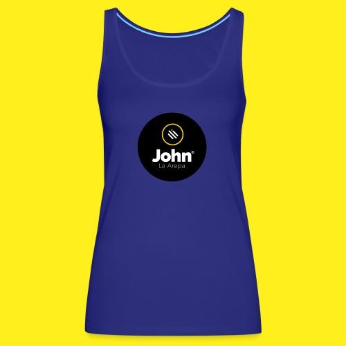 logo john - Camiseta de tirantes premium mujer