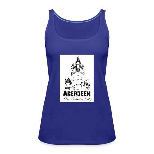 Aberdeen the Granite City - Women's Premium Tank Top