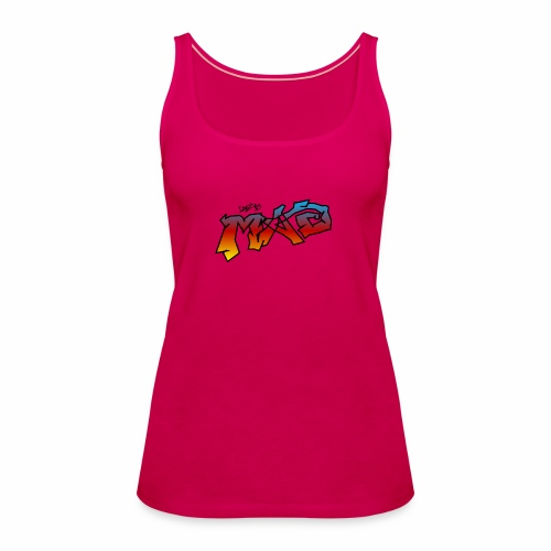 Life Is MAD CGI Makeover TM collaboration - Women's Premium Tank Top