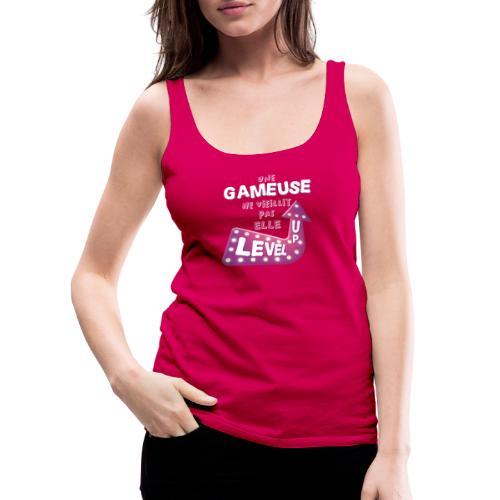 Gameuse Rose - Débardeur Premium Femme