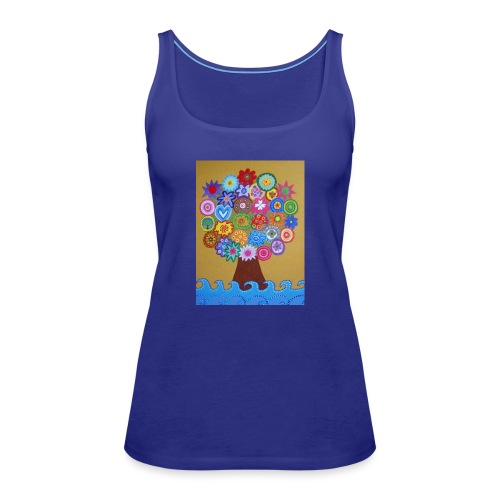arbol de la vida - Camiseta de tirantes premium mujer