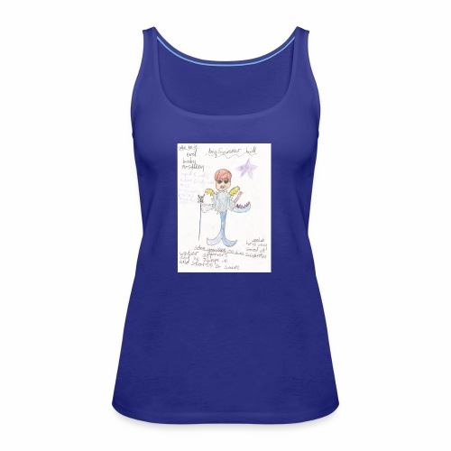 Big Swimmer Bill DHIRT - Women's Premium Tank Top