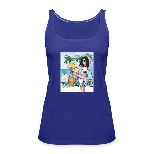 bluecontest - Frauen Premium Tank Top