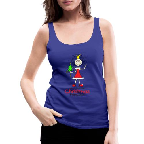 Most beautiful Christmas Princess - Frauen Premium Tank Top