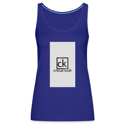 CK _critical kush - Camiseta de tirantes premium mujer