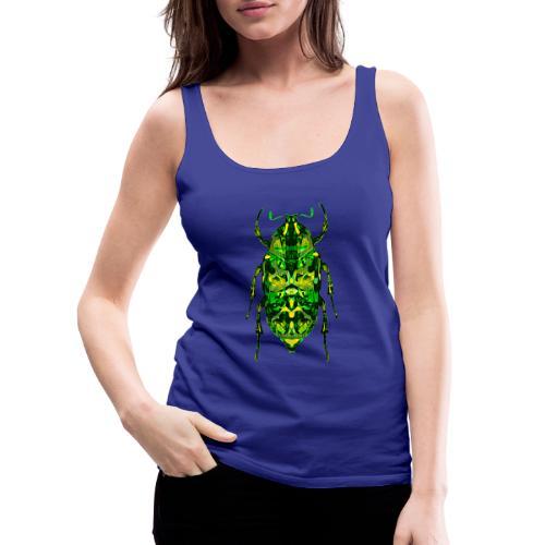 insect groen fantasie digitaal - Vrouwen Premium tank top