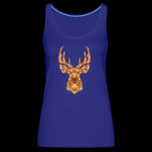 Deer-ish - Tank top damski Premium