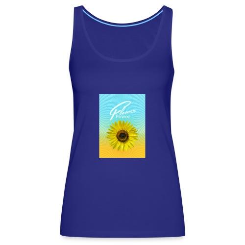 Sonnenblume Sommer Sonnenstrahlen glücklich hygge - Women's Premium Tank Top