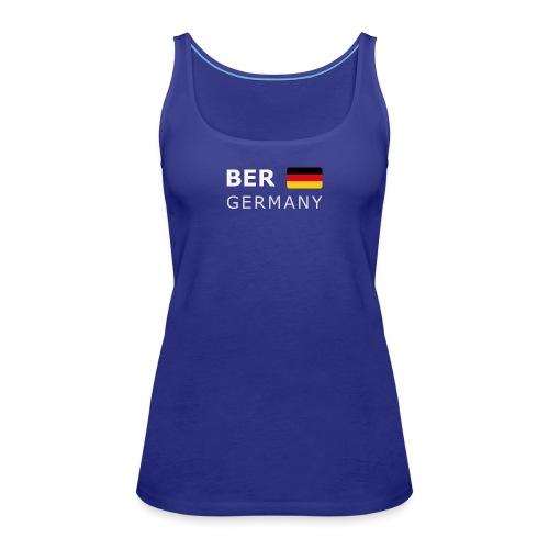 BER GERMANY GF white-lettered 400 dpi - Women's Premium Tank Top