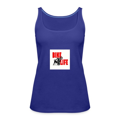 KEEP IT BIKELIFE - Women's Premium Tank Top