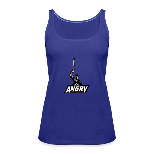 AngryMedalists Logo - Women's Premium Tank Top