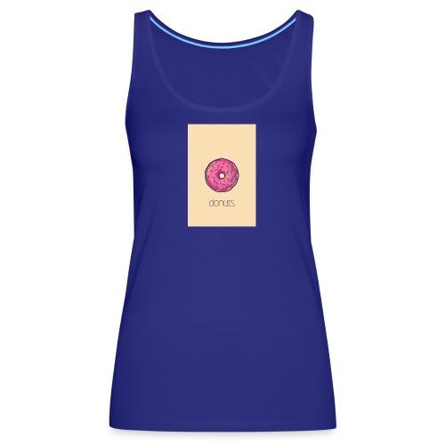 392a7ab86eb0bf69ffca3e7807b4f6a1 pink girl phone - Camiseta de tirantes premium mujer