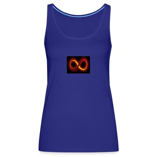 Símbolo del infinito refleja tu equilibrio - Camiseta de tirantes premium mujer