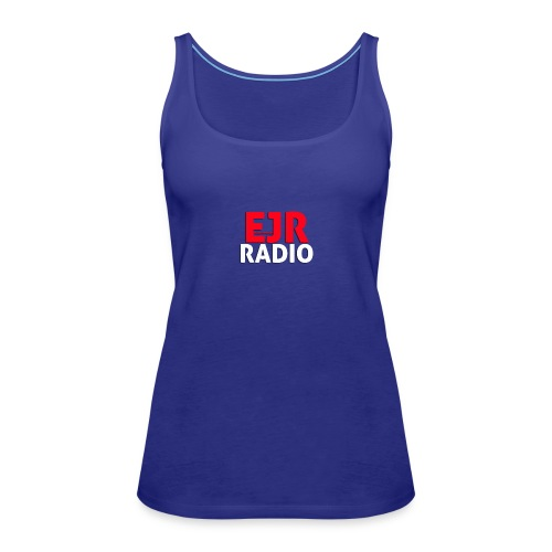 EJR_Words_Logo - Women's Premium Tank Top