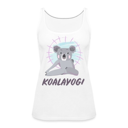 Koalayogi - Premium singlet for kvinner