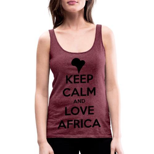 keep calm noir - Débardeur Premium Femme