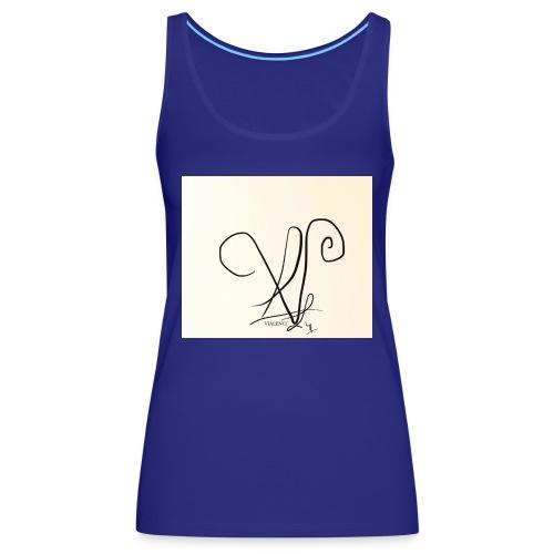 Vialenci symbol Design by Nadine vial - Frauen Premium Tank Top