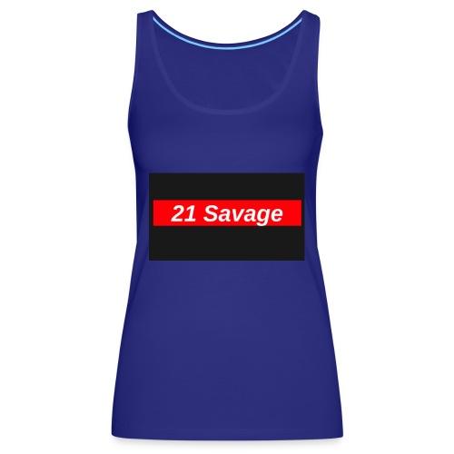 21 Savage - Women's Premium Tank Top