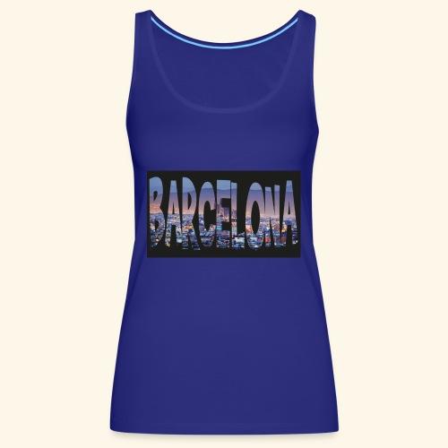 Barcelona - spain - Vrouwen Premium tank top